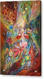 Supremacy Of Red Acrylic Print by Elena Kotliarker