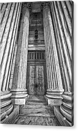 Supreme Court Building 11 Acrylic Print by Val Black Russian Tourchin