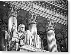 Supreme Court Building 17 Acrylic Print by Val Black Russian Tourchin