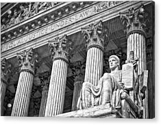 Supreme Court Building 18 Acrylic Print by Val Black Russian Tourchin