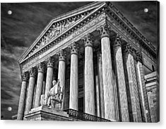 Supreme Court Building 5 Acrylic Print by Val Black Russian Tourchin