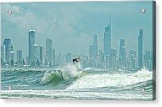 Surfers Paradise Acrylic Print by Thomas Kurmeier