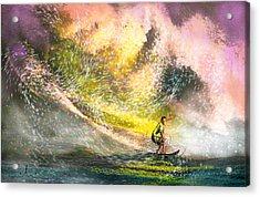 Surfscape 02 Acrylic Print by Miki De Goodaboom