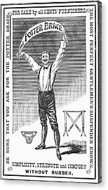 Suspenders, 1888 Acrylic Print by Granger
