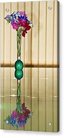 Sweet Peas Acrylic Print by Svetlana Sewell