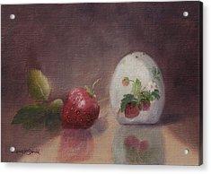 Sweetness Of Summer Acrylic Print by Debbie Lamey-MacDonald