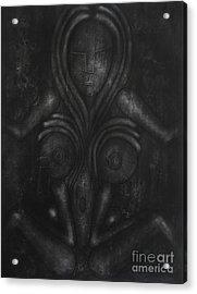 Symbol Acrylic Print by Darko Mitrevski