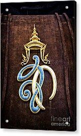 Symbol Acrylic Print by Thanh Tran
