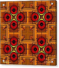 Symmetrica 188 Acrylic Print by Nedunseralathan R