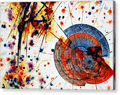 Symphony - Seven Acrylic Print by Mudrow S