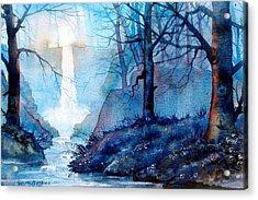 Syvan Spout Acrylic Print by Glenn Marshall