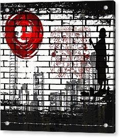 Tag Acrylic Print by Angelina Vick