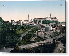 Tallinn Estonia - Formerly Reval Russia Ca 1900 Acrylic Print by International  Images