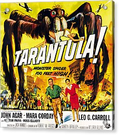 Tarantula, Bottom From Left John Agar Acrylic Print by Everett