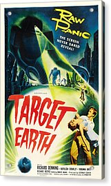 Target Earth, Bottom Right Richard Acrylic Print by Everett