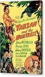 Tarzan And The Huntress, Patricia Acrylic Print by Everett