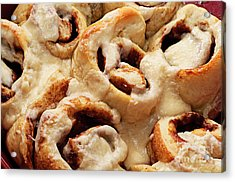 Taste Of Home Cinnamon Rolls Acrylic Print by Andee Design