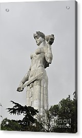 Tbilisi Mother Of Georgia Statue Acrylic Print by Amos Gal