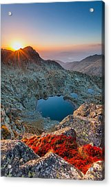 Tears Of The Giant Acrylic Print by Evgeni Dinev