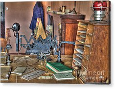 Telegraph Office At Kelso Acrylic Print by Bob Christopher