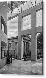 Telfair's Jepson Center Lobby Acrylic Print by Lynn Palmer