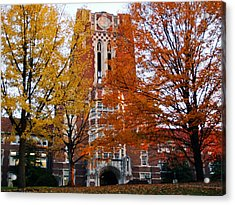 Tennessee Ayers Hall Acrylic Print by University of Tennessee Athletics