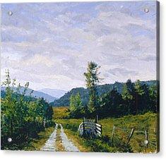 Tennessee Farm Acrylic Print by Mark Lunde