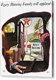 Texaco Advertisement, 1938 Acrylic Print by Granger