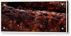 Texture Of The Sea Acrylic Print by Ronald Talley