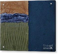 Textures Four Ll Acrylic Print by Marsha Heiken