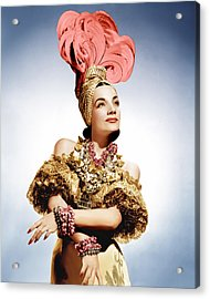 That Night In Rio, Carmen Miranda, 1941 Acrylic Print by Everett