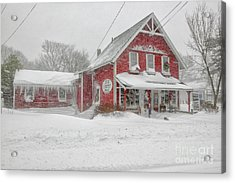 The 1856 Country Store On Main Street In Centerville On Cape Cod Acrylic Print by Matt Suess
