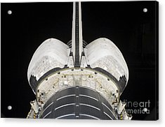 The Aft Portion Of The Space Shuttle Acrylic Print by Stocktrek Images