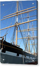 The Balclutha . A 1886 Square Rigged Cargo Ship At The Hyde Street Pier In Sf California . 7d14135 Acrylic Print by Wingsdomain Art and Photography
