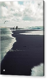The Beach Acrylic Print by Joana Kruse