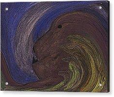 The Beast Acrylic Print by Melvin Moon