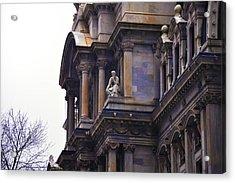 The Beauty Of Philadelphia City Hall Acrylic Print by Bill Cannon