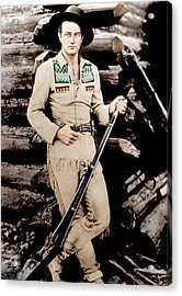 The Big Trail, John Wayne, 1930 Acrylic Print by Everett