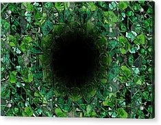 The Black Hole Acrylic Print by Stefan Kuhn