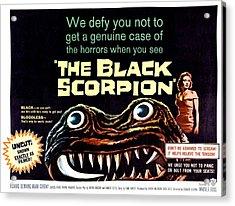 The Black Scorpion, On Right Mara Acrylic Print by Everett