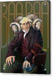 The Black Sheep Acrylic Print by Patrick Anthony Pierson