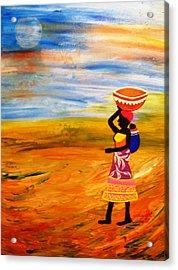 The Bond Acrylic Print by Fatima Pardhan