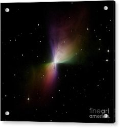 The Boomerang Nebula Acrylic Print by Stocktrek Images