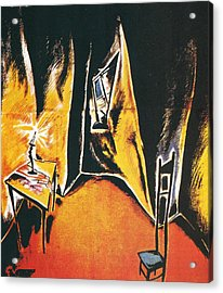 The Cabinet Of Dr Caligari Acrylic Print by Georgia Fowler