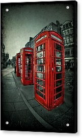 The Call Of Yesteryear Acrylic Print by Evelina Kremsdorf