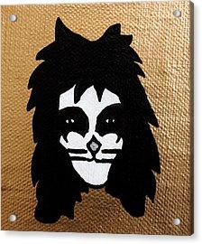 The Catman Acrylic Print by Jera Sky