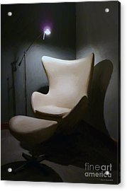 The Chair Acrylic Print by Jerry L Barrett