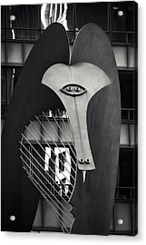 The Chicago Picasso Acrylic Print by Adam Romanowicz