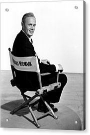 The Cobweb, Richard Widmark, 1955 Acrylic Print by Everett