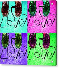 The Color Of Love Acrylic Print by Paul Ward